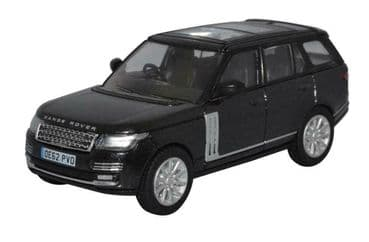 OXFORD DIECAST 76RAN006 1:76 OO SCALE Range Rover Vogue Santorini Black